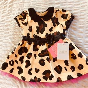 XXO HARAJUKU 2PC DRESS w/SLIP & PANTY 12M, 18M